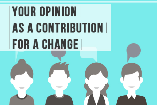 Your Opinion as Contribution for Change
